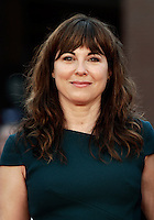 L'attrice e cantante britannica Rebecca Pidgeon posa sul red carpet al Festival Internazionale del Film di Roma, 18 ottobre 2016.<br /> British actress and singer Rebecca Pidgen poses on the red carpet during the international Rome Film Festival at Rome's Auditorium,18 October 2016.<br /> UPDATE IMAGES PRESS/Isabella Bonotto