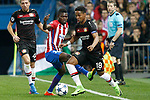 Atletico de Madrid's Thomas Partey (l) and Bayer 04 Leverkusen's Wendell during Champions League 2016/2017 Round of 16 2nd leg match. March 15,2017. (ALTERPHOTOS/Acero)