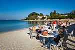 Frankreich, Provence-Alpes-Côte d'Azur, Antibes - Juan-les-Pins: Seebad am Golfe Juan | France, Provence-Alpes-Côte d'Azur, Antibes - Juan-les-Pins: health resort and spa at Golfe Juan
