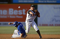 September 1 2008: Larry Infante of the Rancho Cucamonga Quakes during game against the Inland Empire 66'ers at The Epicenter in Rancho Cucamonga,CA.  Photo by Larry Goren/Four Seam Images