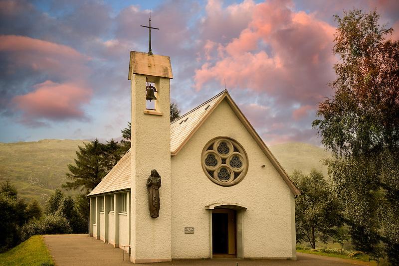 St. Vincent's Catholic Church in The Black Valley. Ballyferriter, Ireland