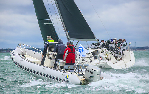 Andrew Craig's Dublin Bay J109 champion Chimaera is a 2019 Scottish Series champion