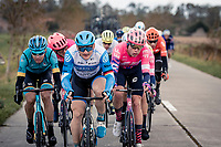 André Greipel (DEU/Israel-StartUp Nation) in De Moeren<br /> <br /> 82nd Gent-Wevelgem in Flanders Fields 2020 (1.UWT)<br /> 1 day race from Ieper to Wevelgem (232km)<br /> <br /> ©kramon