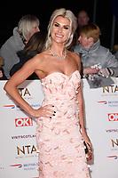 Sarah Jane Dunn<br /> arriving for the National TV Awards 2019 at the O2 Arena, London<br /> <br /> ©Ash Knotek  D3473  22/01/2019