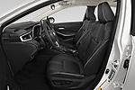 Front seat view of a 2020 Toyota Corolla XLE 4 Door Sedan front seat car photos