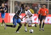 Kei Kamara.San Jose Earthquakes vs Los Angeles Galaxy, April 4, 2008, in Carson California. The Galaxy won 2-0.