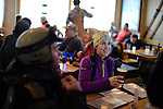 Tracy Nickell<br /> apres ski at the Trapp Bar<br /> Grand Targhee, Wyoming