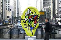 24.07.2019 - Ear Parede na avenida Paulista em SP