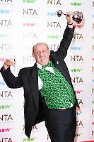 Brendan O'Carroll<br /> in the winners room at the National TV Awards 2017 held at the O2 Arena, Greenwich, London.<br /> <br /> <br /> ©Ash Knotek  D3221  25/01/2017