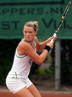 12-8-09, Den Bosch,Nationale Tennis Kampioenschappen, 1e ronde,  Marlot Meddens