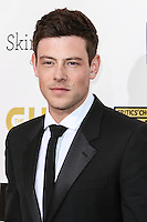 [(FILE) Actor Cory Monteith Dies At 31 on July 13, 2013] SANTA MONICA, CA - JANUARY 10: Actor Cory Monteith arrives at the 18th Annual Critics' Choice Movie Awards at The Barker Hangar on January 10, 2013 in Santa Monica, California. (Photo by Celebrity Monitor)