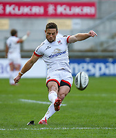 Sunday 25th October 2020 | Ulster vs Dragons<br /> <br /> 25 October 2020; John Cooney Converts during the Guinness PRO14 match between Ulster and Dragons at Kingspan Stadium in Belfast. Photo by John Dickson / Dicksondigital