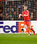 Nederland, Amsterdam, 5 november 2015<br /> Europa League<br /> Seizoen 2015-2016<br /> Ajax-Fenerbahce (0-0)<br /> Jasper Cillessen, keeper (doelman) van Ajax in actie met bal