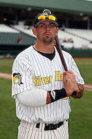 June 13th 2008:  Sean Coughlin of the South Bend Silver Hawks, Class-A affiliate of the Arizona Diamondbacks, during a game at Stanley Coveleski Regional Stadium in South Bend, IN.  Photo by:  Mike Janes/Four Seam Images