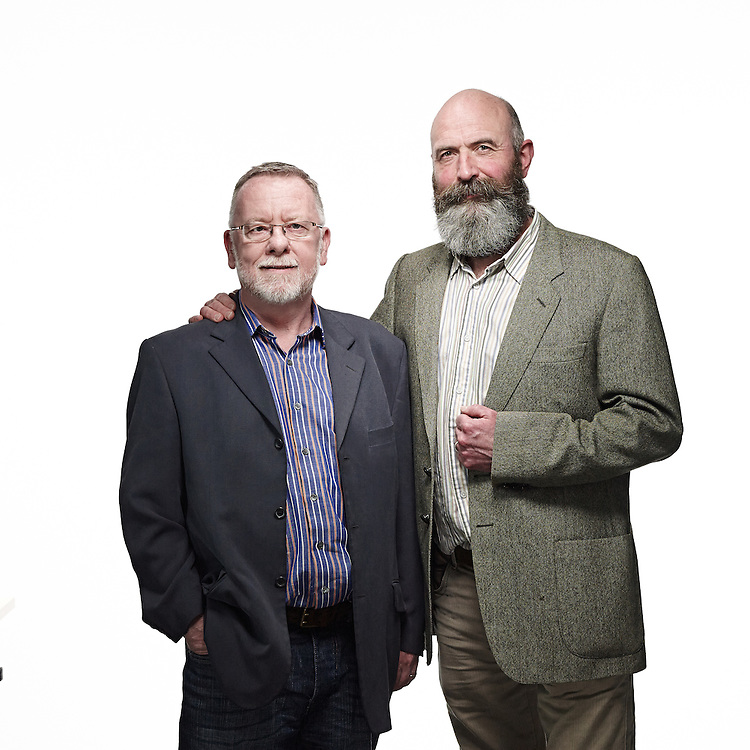 © John Angerson<br /> 140320  Quaker week Portraits<br /> Alistair Gault and Sean<br /> Licence expires March 2017