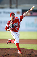 Batavia Muckdogs pitcher Tim Cooney #13 during a game against the Connecticut Tigers at Dwyer Stadium on July 5, 2012 in Batavia, New York.  Batavia defeated Connecticut 8-2.  (Mike Janes/Four Seam Images)