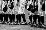 Japan Team during the BFA Women's Baseball Asian Cup match between Japan and Hong Kong at Sai Tso Wan Recreation Ground on September 5, 2017 in Hong Kong. Photo by Marcio Rodrigo Machado / Power Sport Images<br /> <br /> <br /> (EDITOR NOTE, BLACK AND WHITE CHANGED BY LIGHTROOM)