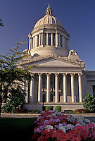 AJ3683, Olympia, State Capitol, State House, Washington, State Capitol building on the Capitol Campus in the capital city of Olympia in the state of Washington.