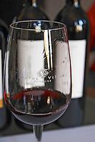 glass calderona bodegas frutos villar , cigales spain castile and leon