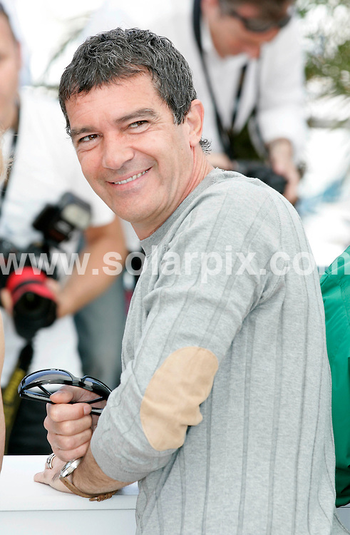 **ALL ROUND PICTURES FROM SOLARPIX.COM**                                             **UK AND SPAIN SYNDICATION RIGHTS ONLY**                                                                                  Caption: La Piel Que Habito photo call during the 64th Cannes Film Festival, Cannes, France. 19 May 2011                                                                             This pic: Antonio Banderas                       JOB REF: 13382 CPR Heinz      DATE: 19_05_2011                                                            **MUST CREDIT SOLARPIX.COM OR DOUBLE FEE WILL BE CHARGED**                                                                      **MUST AGREE FEE BEFORE ONLINE USAGE**                               **CALL US ON: +34 952 811 768 or LOW RATE FROM UK 0844 617 7637**