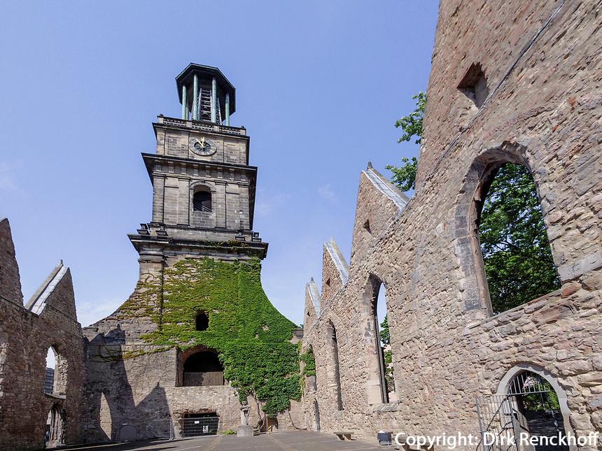 Ruine der Aegidienkirche - Kriegsdenkmal - in Hannover, Niedersachsen, Deutschland, Europa<br /> ruins of Aegidien Curch. war memorial in Hanover, Lower Saxony, Germany, Europe