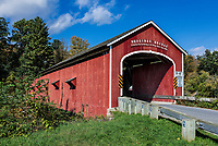 Buskirk Covered Bridge, New York, USA.