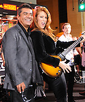 George Lopez and Angie Everhart at The Hard Rock Cafe Hollywood's grand opening party in Hollywood, California on October 21,2010                                                                               © 2010 Hollywood Press Agency