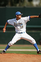 April 3 2010: Garret Claypool of the UCLA Bruins during game against the Stanford Cardinal at UCLA in Los Angeles,CA.  Photo by Larry Goren/Four Seam Images