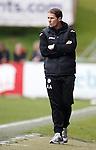 Partick boss Alan Archibald far from happy