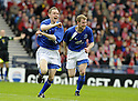 12/04/2008    Copyright Pic: James Stewart.File Name : sct_jspa06_qots_v_aberdeen.PAUL BURNS CELEBRATES AFTER HE SCORES QUEEN OF THE SOUTH'S SECOND....James Stewart Photo Agency 19 Carronlea Drive, Falkirk. FK2 8DN      Vat Reg No. 607 6932 25.Studio      : +44 (0)1324 611191 .Mobile      : +44 (0)7721 416997.E-mail  :  jim@jspa.co.uk.If you require further information then contact Jim Stewart on any of the numbers above........