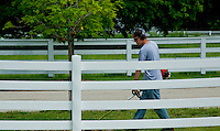 Working Close to a fence.