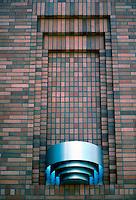 Portland: Koin Center Cinema--detail of Torchiere.  Photo '86.