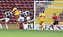 03/10/2009  Copyright  Pic : James Stewart.sct_jspa_02_motherwell_v_falkirk  .LUKAS JUTKIEWICZ SCORES THE FIRST FOR MOTHERWELL.James Stewart Photography 19 Carronlea Drive, Falkirk. FK2 8DN      Vat Reg No. 607 6932 25.Telephone      : +44 (0)1324 570291 .Mobile              : +44 (0)7721 416997.E-mail  :  jim@jspa.co.uk.If you require further information then contact Jim Stewart on any of the numbers above.........