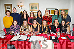 The staff of Leahy's pharmacy of Ballinorrig and Oakpark enjoying the evening in Cassidys on Saturday