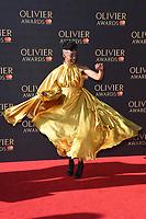 Noma Dumezweni<br /> arriving for the Olivier Awards 2017 at the Royal Albert Hall, Kensington, London.<br /> <br /> <br /> ©Ash Knotek  D3245  09/04/2017