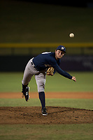 AZL Brewers relief pitcher Tyler Tungate (23) follows through on his delivery during an Arizona League game against the AZL Cubs 1 at Sloan Park on June 29, 2018 in Mesa, Arizona. The AZL Cubs 1 defeated the AZL Brewers 7-1. (Zachary Lucy/Four Seam Images)