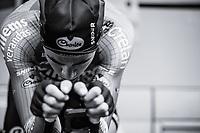 Wout Van Aert (BEL/Veranda's Willems - Crelan) warming up.<br /> <br /> Binckbank Tour 2017 (UCI World Tour)<br /> Stage 2: ITT Voorburg (NL) 9km