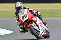 October 27, 2018:  during the Moto2 practice session three at the 2018 MotoGP of Australia at Phillip Island Grand Prix Circuit, Victoria, Australia. Photo Sydney Low