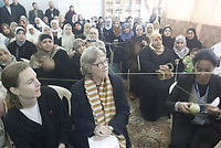 """Karen Abu Zeid General Coordinator of the United Nations in the Palestinian territories at a meeting on women's violence against women in Alshataa  refugee camp in the Gaza Strip November 25, 2007.""""photo by Fady Adwan"""""""