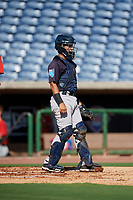 New York Yankees catcher Anthony Seigler (11) during a Florida Instructional League game against the Philadelphia Phillies on October 12, 2018 at Spectrum Field in Clearwater, Florida.  (Mike Janes/Four Seam Images)