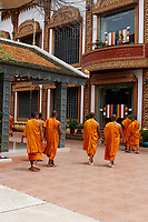 Monks and novices<br />  , Siem Reap<br /> , Cambodia<br /> <br /> PHOTO :  Agence Quebec Presse<br /> <br /> <br /> <br /> <br /> <br /> PHOTO : Agence Quebec Presse