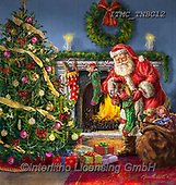 Marcello, CHRISTMAS SANTA, SNOWMAN, WEIHNACHTSMÄNNER, SCHNEEMÄNNER, PAPÁ NOEL, MUÑECOS DE NIEVE, paintings+++++,ITMCTNBC12,#x#