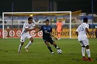 SAN JOSE, CA - SEPTEMBER 13: Oswaldo Alanis #4 of the San Jose Earthquakes during a game between Los Angeles Galaxy and San Jose Earthquakes at Earthquakes Stadium on September 13, 2020 in San Jose, California.