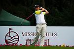 Nattavat Teepakornsukasem of Thailand tees off during the 2011 Faldo Series Asia Grand Final on the Faldo Course at Mission Hills Golf Club in Shenzhen, China. Photo by Victor Fraile / Faldo Series