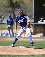 Jose Chacin - Los Angeles Dodgers 2019 spring training (Bill Mitchell)