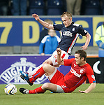 Jon Daly wipes out Craig Sibbald