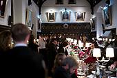 Oxford University<br /> Oxford, United Kingdom<br /> November 30, 2018<br /> <br /> Merton College Hall on a formal evening.