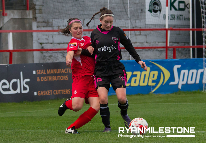 Women's National League Cup Semi Final, Shelbourne Ladies FC v Wexford Youths Women, Wednesday 27th April 2016 at Tolka Park
