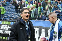 SEATTLE, WA - NOVEMBER 10: Seattle Sounders FC owner Adrian Hanauer during a game between Toronto FC and Seattle Sounders FC at CenturyLink Field on November 10, 2019 in Seattle, Washington.