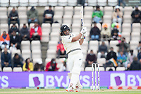 Colin de Granhomme, New Zealand attempts to pull square of the wicket during India vs New Zealand, ICC World Test Championship Final Cricket at The Hampshire Bowl on 22nd June 2021
